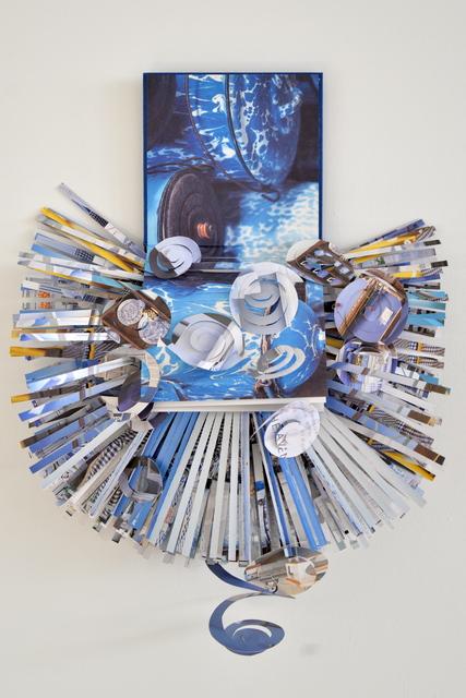 , 'books115Blue,' 2015, Carter Burden Gallery