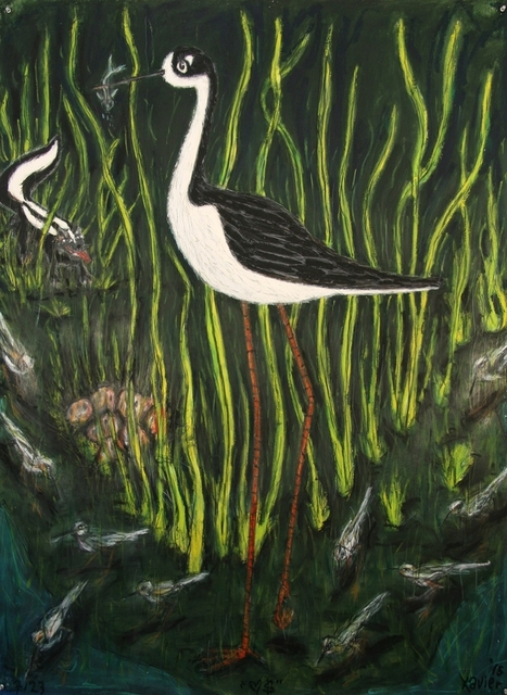 , 'Black Necked Stilt,' 2015, William Campbell Contemporary Art, Inc.