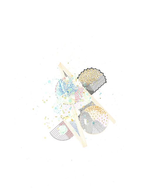 , 'explosions #8,' 2017-2018, Burnet Fine Art & Advisory