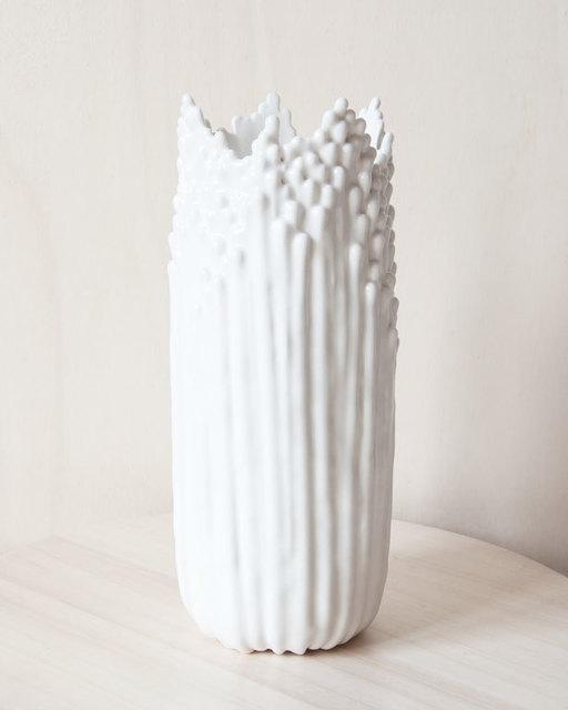 , 'Grand Vase Floral Blanc Satiné,' 2019, Rademakers Gallery