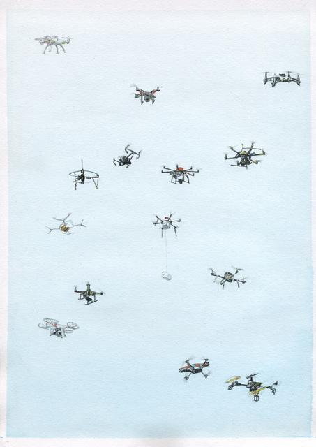 , 'Apologie des Zufälligen,' 2017, Christine König Galerie