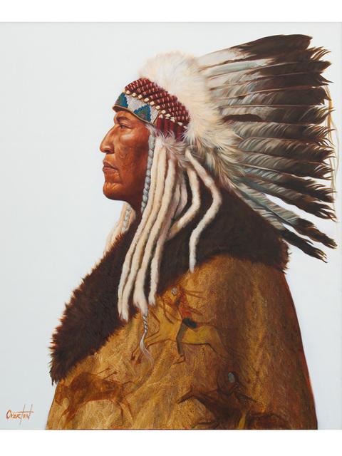 Greg Overton, 'Washakie', 2020, Painting, Oil on canvas, Trailside Galleries