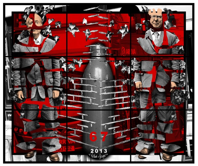 Gilbert and George, '67', 2013, Galerie Thaddaeus Ropac