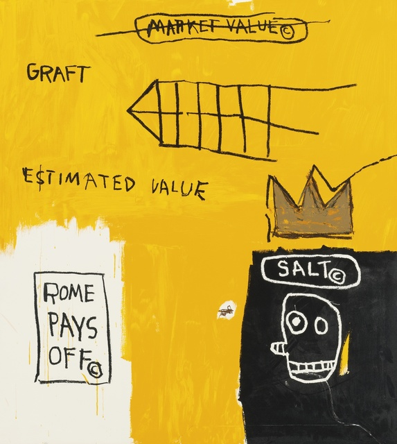 Jean-Michel Basquiat, 'Rome Pays Off ', 2004, Maddox Gallery