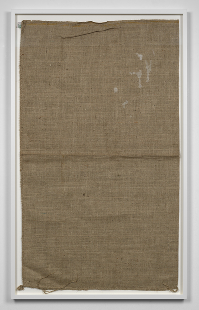 , 'Untitled (Sack #7),' 2013, Simon Lee Gallery