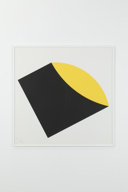 , 'Black-Yellow, 105/125,' 1983, Galerie Denise René