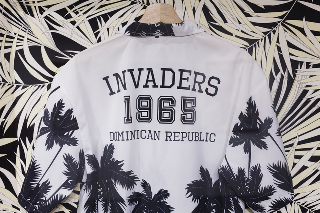 , 'I can wear tropical print now #1 (INVADERS),' 2018, Casa Quien
