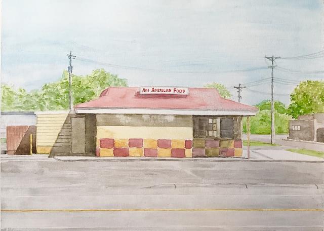 , 'American Food,' 2018, William Baczek Fine Arts