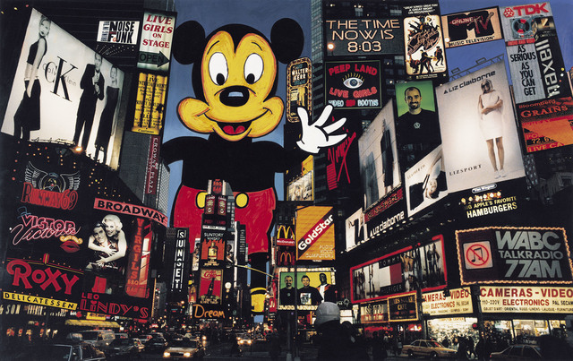 William Klein, 'Mickey takes over Times Square', 1990, GALLERY FIFTY ONE