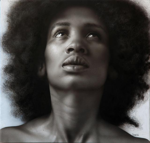 Bernardo Torrens, 'Ana B. I', 2020, Painting, Acrylic on wood, Louis K. Meisel Gallery