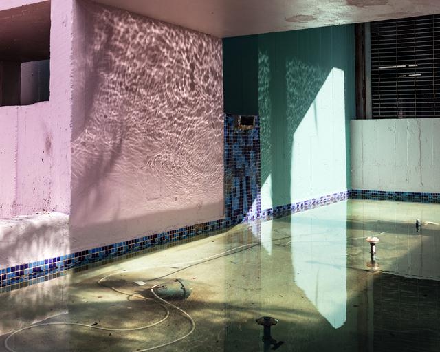 Anastasia Samoylova, 'Façade in South Beach (Fountain)', 2017, Flowers