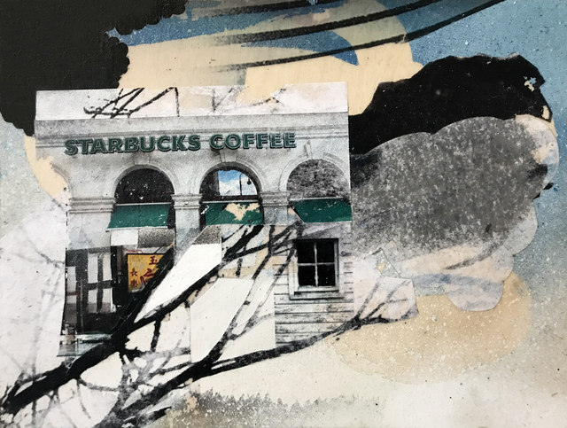 , 'Safe Houses, Starbucks,' 2017, Roman Fine Art