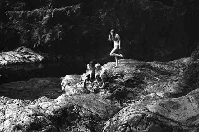 , 'Izzy, David & Daniel In Lynn Canyon Pools,' 2012, THE LITTLE BLACK GALLERY