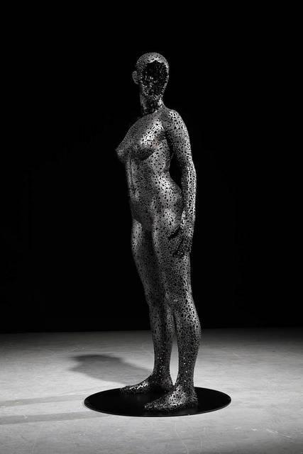, 'Nirvana 357,' 2018, Liquid art system