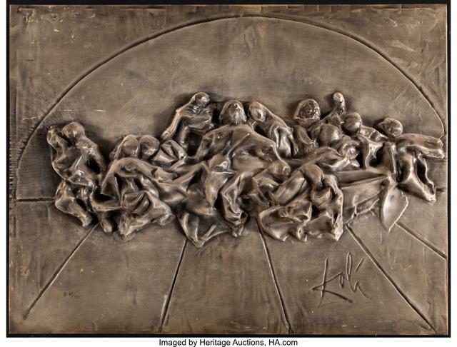 Salvador Dalí, 'The Last Supper', 1975, Sculpture, Bas relief sculpture, Heritage Auctions