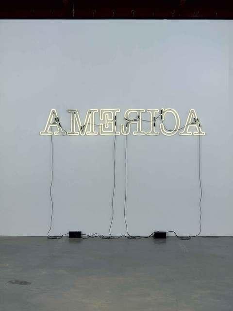 Glenn Ligon, 'Rückenfigur', 2009, Whitney Museum of American Art