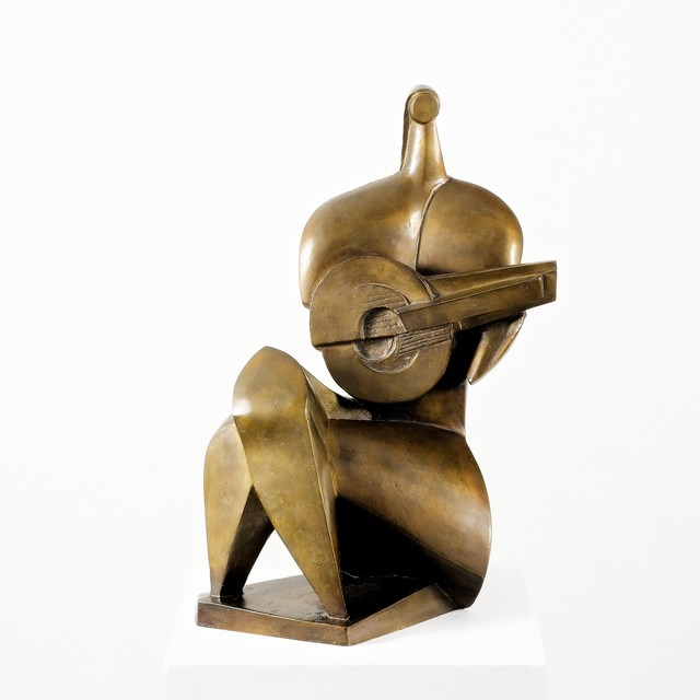 , 'Mandolin Player III,' Design 1948, Galerie Bei Der Albertina Zetter