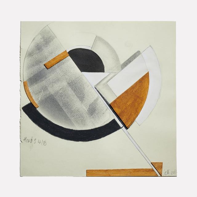 , 'Head 3 wb,' 2017, Helwaser Gallery