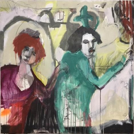 , 'CONGA 1, CONGA 2,' 2018, Margaret River Art Gallery