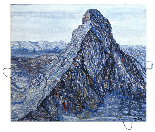 , 'Utopian Civilization at Mt. Eiger,' 2018, DavisKlemmGallery