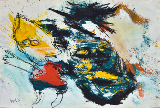 Karel Appel, 'Untitled (Reflected)', 1960, Vallarino Fine Art