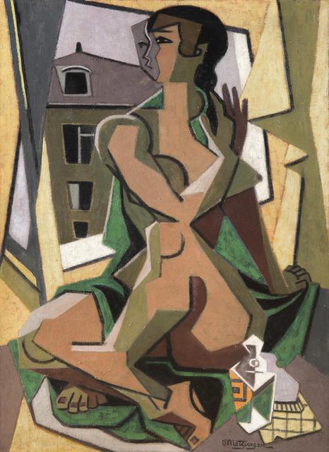 , 'Femme au flacon assise à la fenêtre,' 1925, HELENE BAILLY GALLERY