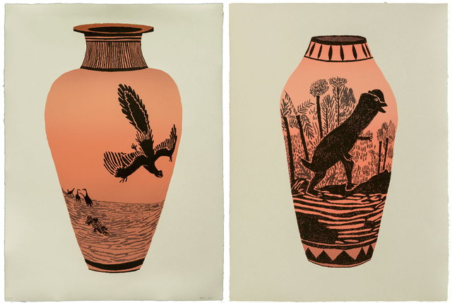 , 'Archaeopteryx Lithographica - Dilophosaurus Wetherilli (Set of Two),' 2015, Hang-Up Gallery