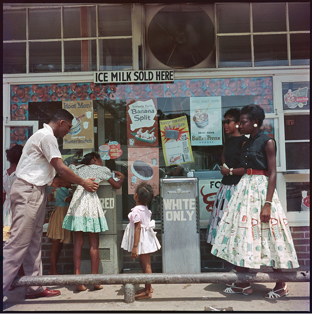 , 'At Segregated Drinking Fountain,' 1956, Jenkins Johnson Gallery