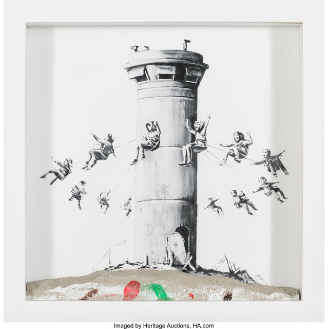 After Banksy, 'Walled Off Hotel Box', 2017, Heritage Auctions