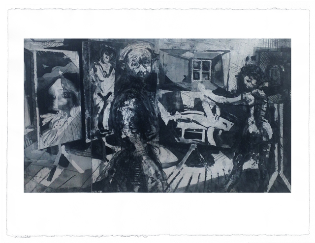 Diarmuid Delargy, 'Epiphany', 2014, Print, Intaglio, Stoney Road Press