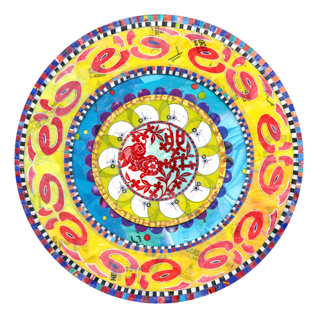 , 'Power Flower Mandala,' 2013, Nancy Hoffman Gallery