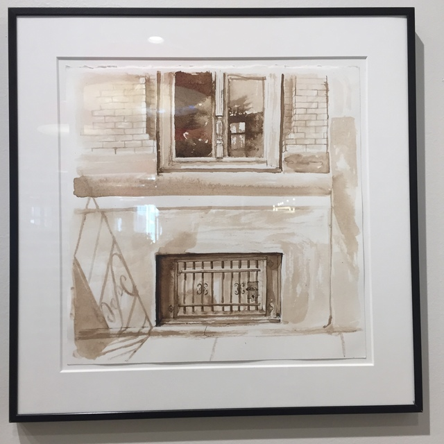 Alice Thompson, 'Girard Avenue Windows Study II', 2018, InLiquid