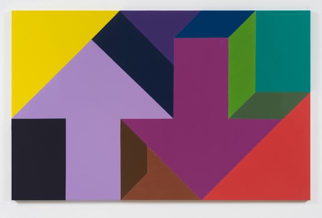 , 'Arrow Painting 60,' 2016, Kavi Gupta
