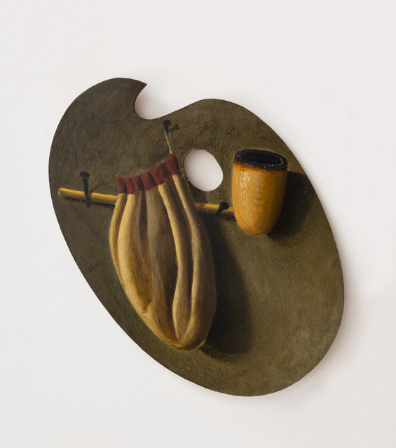, 'Artist's Palette with Pipe and Pouch,' , Peter Freeman, Inc.