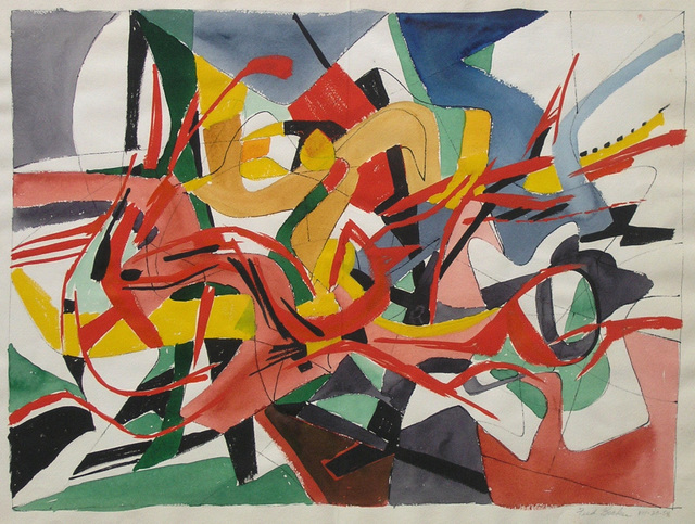 , 'Abstract H,' 1954, Dolan/Maxwell