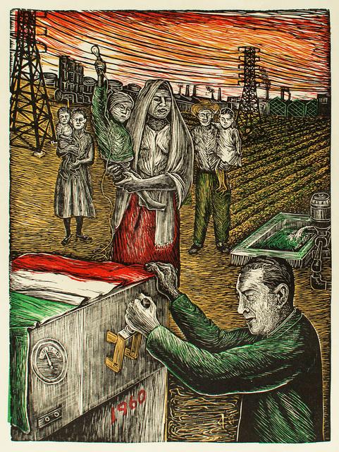 , ' Mexico Reivindica sus Recursos Electricos,' 1960, Hecho a Mano