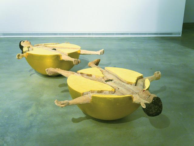 , 'Kugelmenschen (Frau und Mann) [Spherical human beings (woman and man)],' 2012, Moscow Museum of Modern Art