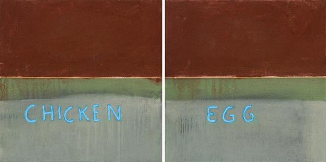 , 'Untitled (chicken 'n egg),' 2015, Stevenson