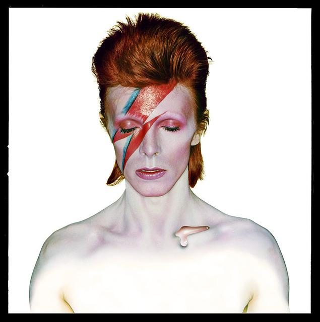 , 'David Bowie as 'Aladdin Sane',' 1973, Beetles + Huxley