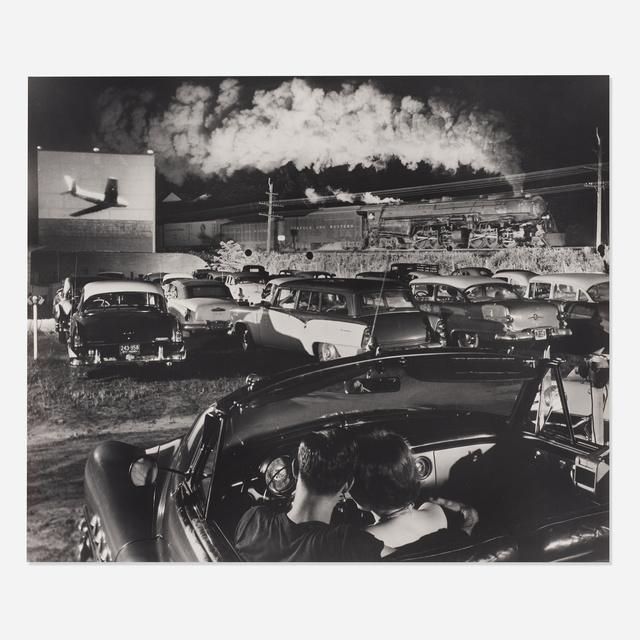 O. Winston Link, 'Hotshot Eastbound, Iaeger, West Virginia', Wright