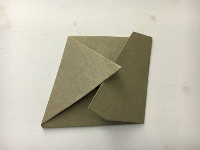 , 'Folded Flat Linen 01,' 2016, Rauminhalt