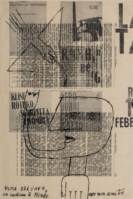 Victor Brauner, 'Un cadeau à Plinio', 1961, Finarte