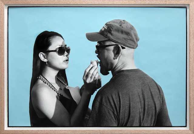, 'Ice Cream Couple, Huntington Beach,' 2013, Tim Van Laere Gallery