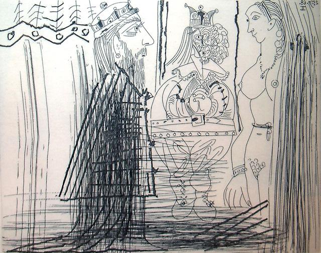 Pablo Picasso, '347 Series: No. 334, Bloch 1814', 1968, Marlborough Graphics