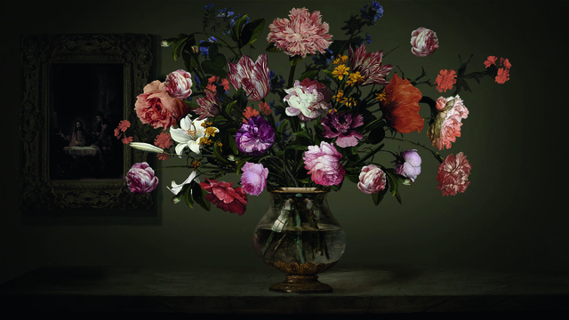 , 'Flowers and Creation,' 2013, Opera Gallery