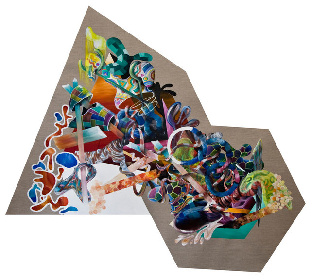 , 'After Denudation 7,' 2016, Ayyam Gallery
