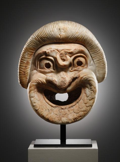 , 'A Monumental Theatre Mask of a Slave,' , Cahn International