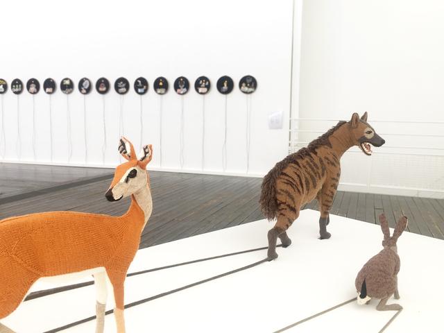 , 'Série La Fin du XXIe siècle,' 2017, Galerie Les filles du calvaire