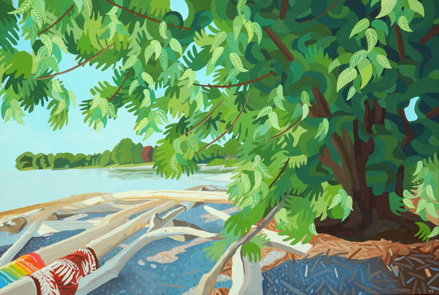, 'Charlotte Beach,' 2018, Wally Workman Gallery