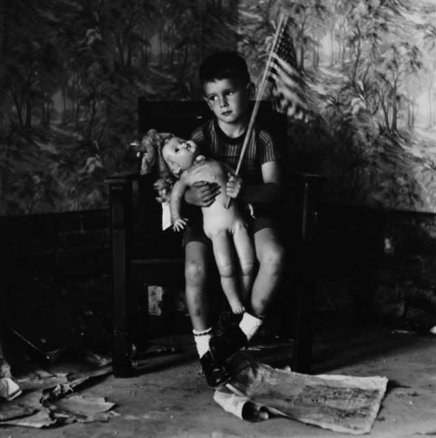 , 'Untitled (Boy with Flag) [Christopher and the Rebuilding of America],' 1959/1974, ClampArt
